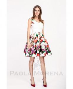 Paola Morena !Короткое платье