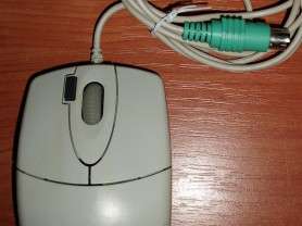 Мышь для компьютера проводная A4Tech OP-6200