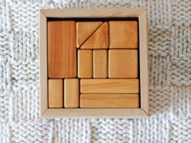 Конструктор (набор деревянных кубиков)