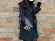 Пальто Burberrry с капюшоном. Размер L.