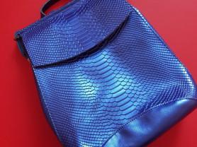 Новый кожаный рюкзак под рептилию