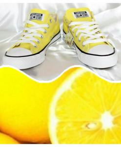 Желтые низкие Converse AllStars!