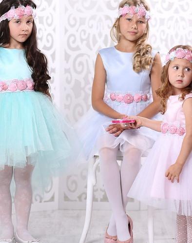 """Платье для девочки """"Карамель"""" (140-72)"""