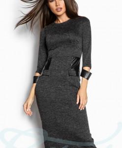 Ангоровое облегающее платье Gepur