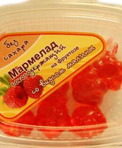 "Мармелад без сахара с соком ""Малина"" 140г"