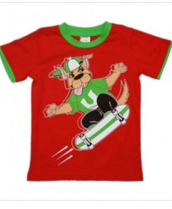 Футболка для мальчиков скейт - 4 цвета