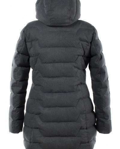 05-1407 Куртка зимняя (Синтепух 300) Мембранная плащевка Сер