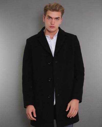 Пальто мужское демисезонное 1683-000   (черный )