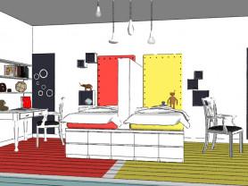 Дизайн комнаты. Авторский надзор в подарок.