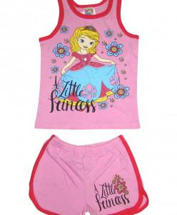 Детские майка и шорты для девочек Медвежонок М-009 2-5 арт.7