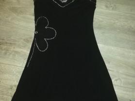 Платье стрейч р. 40-42, чёрное, одето один раз...