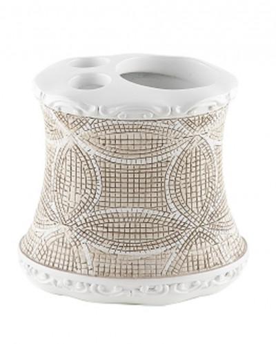 FRESKO Стакан для зубной пасты и щётки, полимер