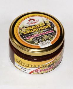 Мёд с экстрактом чёрной рябины