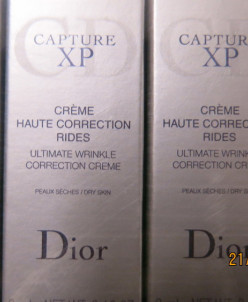 Dior CAPTURE XP creme haute correction rides Dry Skin д.сухо