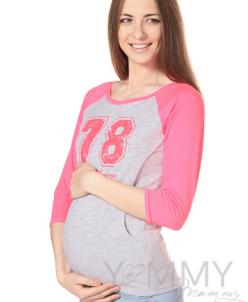 Футболка-кимоно для беременных и кормящих мамочек