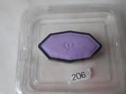 Тени Cle de Peau 206 одноцветные