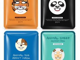 Маска для лица Animal mask Bioaqua