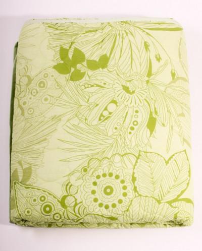 Стеганное одеяло из натурального хлопка. 1,5 сп