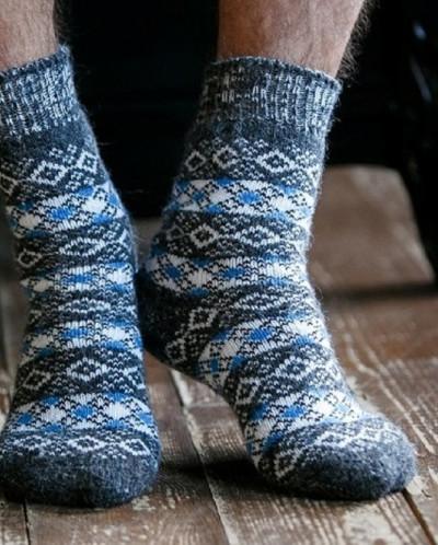 Носки шерстяные N6R204-1