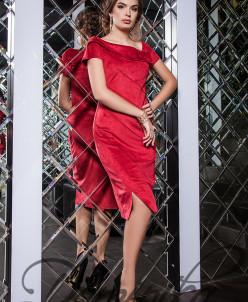 Платье из замши Olly 11631 K