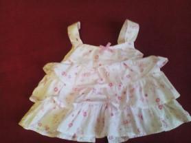 Новое платье размер 6-9 мес.