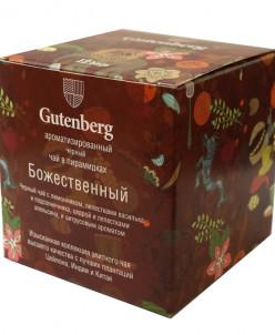 Чай Gutenberg в пирамидке Божественный Доступно к заказу