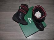 Lacoste сапоги дутики новые на 38 размер
