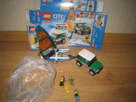 LEGO City Внедорожник с прицепом для катамарана