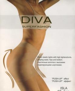 Женские колготки Diva Superfashion  (коррекция!) Bronz