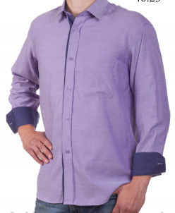 Сорочки из хлопка. Приталенный силуэт, длинный рукав