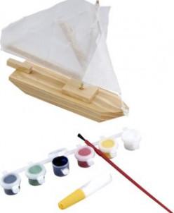 Модель Парусник с красками