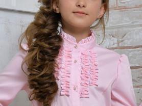 Розовая школьная блуза Гермиона (Germiona )
