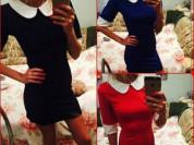 новые платья с воротничком xs/s