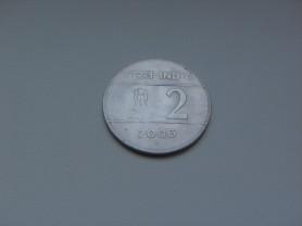 2 Рупии 2006 год Индия