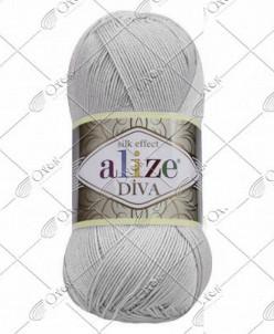 """Пряжа ALIZE """"DIVA"""" (100 г) 168 (ракушка)"""