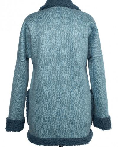 02-2457 Пальто женское утепленное