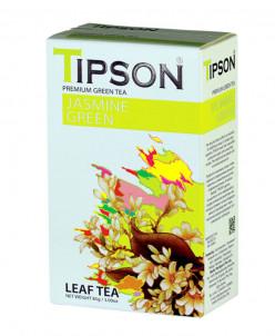 Чай Tipson Зеленый с жасмином/Jasmine Green 85г., картон