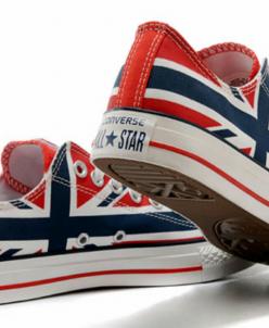 Британский флаг низкие Converse AllStars!