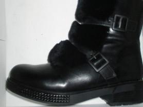 Ботинки зимние 39 р(26)T.TACCARDI мех натуральный
