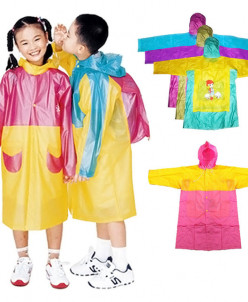 Детский плащ-дождевик в ассортименте (рр 110-120см)