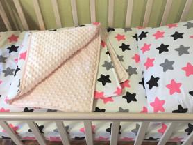 Комплект в детскую кроватку для девочки