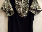 Бутиковая блузка LEO GUY франция  размер 52