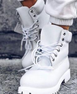 Ботинки Timberland.