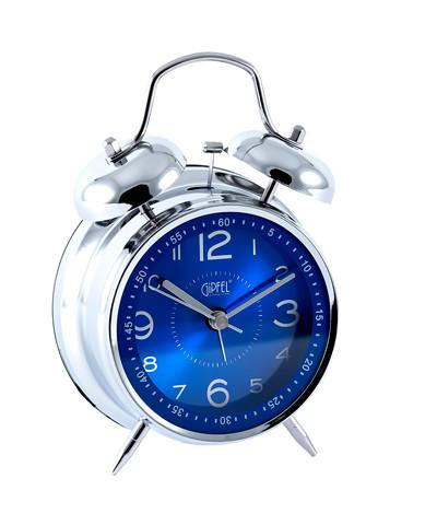 9415 GIPFEL Часы-будильник настольные, 11,5х17х6см. Материал