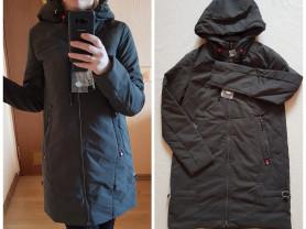 Новая осенняя куртка парка 40 42 44 46 48