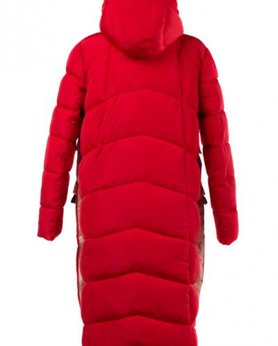 04-1777 Куртка демисезонная (Синтепон 200) Плащевка Красный