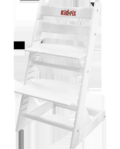 Регулируемый растущий детский стул Kid-Fix Белый