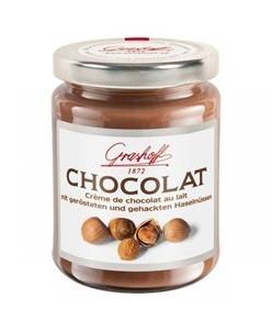 молочный шоколадный крем с орехами