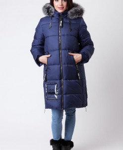 Пальто зимнее для девочки ZKD 3