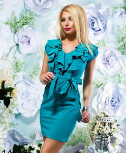Облегающее коктельное платье